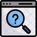 Search Browser Query Icon