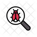 Search Bug Malware Icon