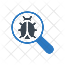 Search Bug Malware Icon
