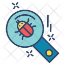 Search Bug Virus Icon