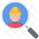 Search Builder Helmet Icon