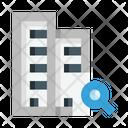 Search Building Icon