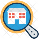 Search Building Home Icon
