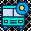 Search Bus Icon