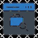 Search Portfolio Work Icon