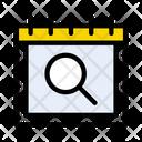 Search Calendar Icon