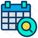 Search Find Calender Icon