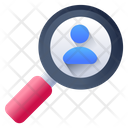 Search Employee Search Profile Search Candidate Icon