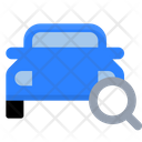 Search Car Search Taxi Car Icon