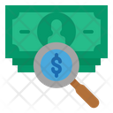 Search Cash Search Money Search Dollar Icon