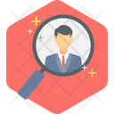 Search Client Magnifier Icon