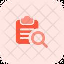 Search Clipboard Search File File Search Icon