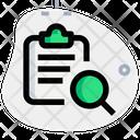 Search Clipboard Icon