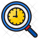 Search Clock Time Watch Icon
