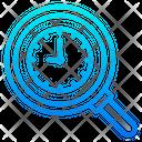 Search Clock Icon