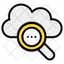 Search Cloud Find Cloud Cloud Exploration Icon