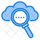 Search Cloud Search Network Icon