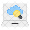 Search Cloud Search Network Find Cloud Icon