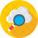 Search Cloud Computing Icon