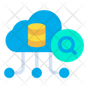 Search Cloud Database Icon