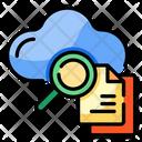 Search Cloud File Icon