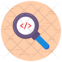 Source Code Searching Html Searching Programming Icon