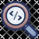 Search Coding Search Programming Search Div Icon