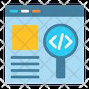 Search Coding Search Magnifier Icon