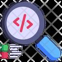 Search Coding Icon