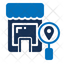 Search Commerce Store Magnifying Glass Icon