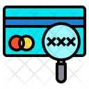 Banking Magnify Card Icon