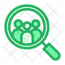 Searching Customers Business Icon