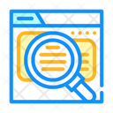 Review Research Color Icon