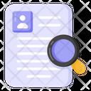 Search Cv Icon