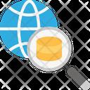 Search Data Find Data Internet Icon