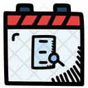 Search Data Calendar Date Icon