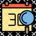 Calendar Data Work Icon