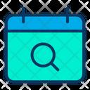 Search Date For Event Calendar Date Search Calendar Icon