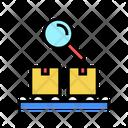 Logistics Conveyor Research Icon