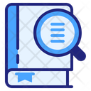 Search Dictionary Dictionary Book Icon