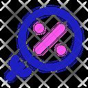 Search Sale Black Icon