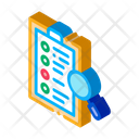 Document Research Tax Icon