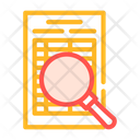 Document Research Color Icon