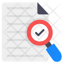 Search Document Search File Content Analysis Icon