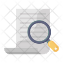 Search Document Search Paper Document Analysis Icon