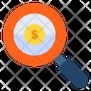 Search Dollar Search Money Search Finance Icon