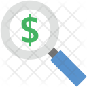 Search Dollar Icon