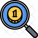 Search earning way Icon