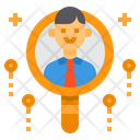 Search Headhunting Recruitment Icon