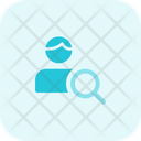 Search Employee Find Employee Business Icon